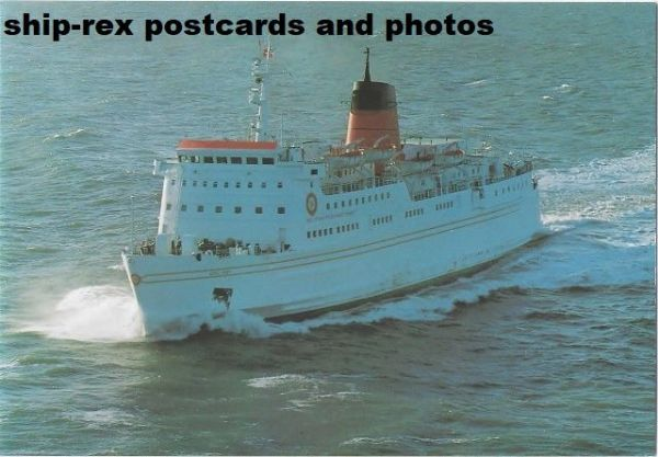 KING ORRY (1990, Isle Of Man Steam Packet) postcard